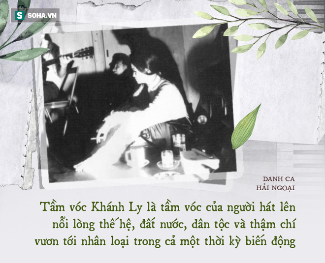 Danh ca Khánh Ly: Dưới 1 người trên vạn người, khiến nhạc sĩ Phạm Duy phải thốt ra câu này - Ảnh 1.