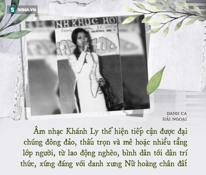 Danh ca Khánh Ly: Dưới 1 người trên vạn người, khiến nhạc sĩ Phạm Duy phải thốt ra câu này - Ảnh 7.