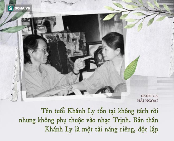Danh ca Khánh Ly: Dưới 1 người trên vạn người, khiến nhạc sĩ Phạm Duy phải thốt ra câu này - Ảnh 11.