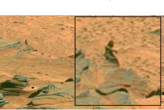 Sự thật về bức ảnh chụp xương người trên bề mặt Sao Hỏa của NASA - Ảnh 3.