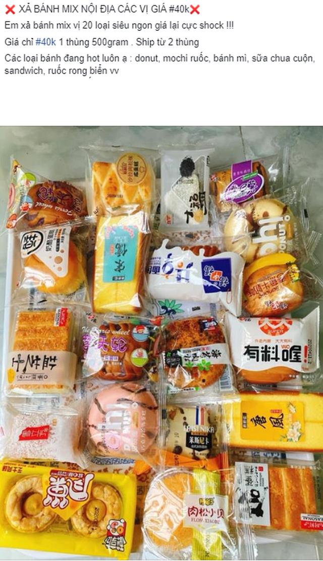 Rộ đồ ăn vặt nội địa Trung trên chợ mạng: Giá rẻ không thiếu thứ gì từ bánh kẹo, nước uống cho tới các loại thịt ăn liền - Ảnh 4.