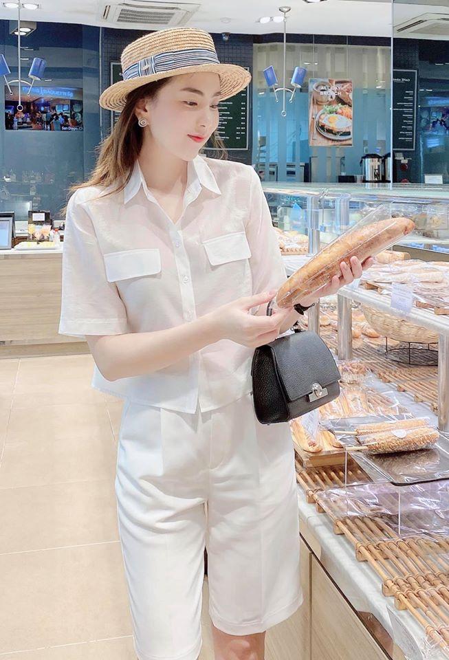 Lần hiếm hoi MC Mai Ngọc khoe đường cong với bikini - Ảnh 3.