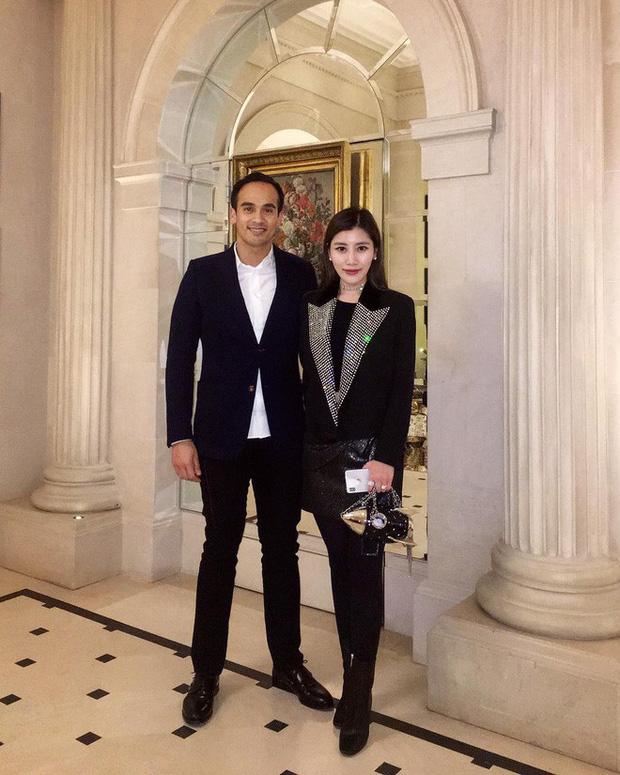 Chryseis Tan và Faliq Nasimuddin là cặp đôi quyền lực trong giới siêu giàu châu Á.