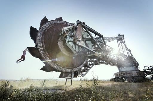 Cỗ máy Bagger 1473 nặng gần 4.000 tấn - kỳ quan đã ngủ yên của Đức - Ảnh 2.