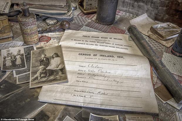 Ghé thăm ngôi nhà của ký ức từ hơn 200 năm trước vẫn còn nguyên vẹn: Đồng hồ đã ngưng điểm, hàng trăm bức thư tình vẫn còn trong ngăn kéo - Ảnh 5.