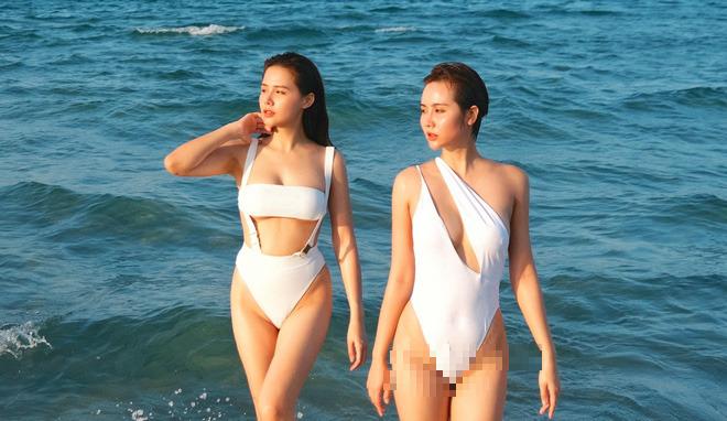Đọ vẻ nóng bỏng của bộ 3 bạn thân Phanh Lee - Huyền Lizzie - Thu Hoài - Ảnh 3.
