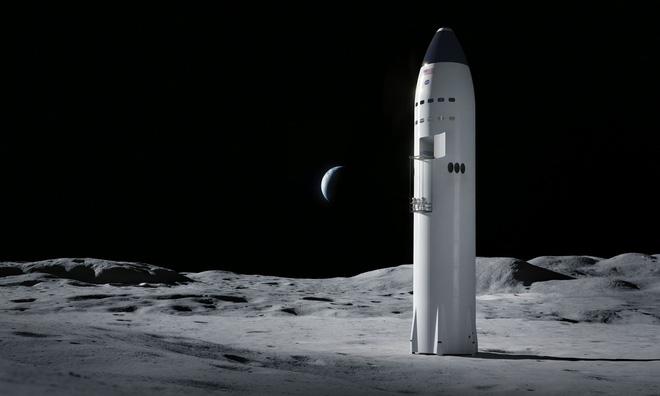 Elon Musk chuẩn bị xây bệ phóng tên lửa trên mặt nước, làm bàn đạp cho tàu Starship chở người xuyên lục địa, lên Mặt Trăng và đáp Sao Hỏa - Ảnh 1.