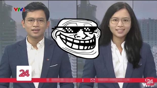 Việt Hoàng - BTV mặn nhất VTV sẵn sàng hoán đổi giới tính ngay trên sóng truyền hình: Ơ mặt mộc xinh quá! - Ảnh 4.
