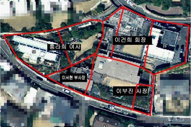 Khu đất được xem là đầu rồng ở Seoul, nơi gia tộc Samsung xây 5 dinh thự sát cạnh nhau cho các thành viên trong gia đình - Ảnh 1.