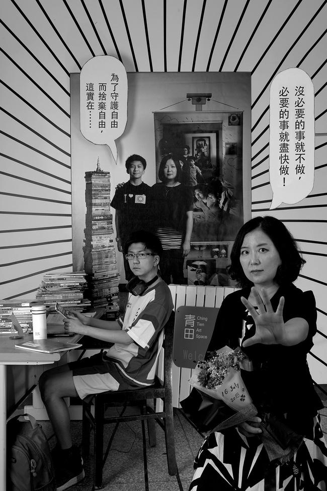 Bộ ảnh lồng ghép ấn tượng của bà mẹ đơn thân Đài Loan: Dành 17 năm ghi lại hành trình trưởng thành cùng con trai động lòng người - Ảnh 12.