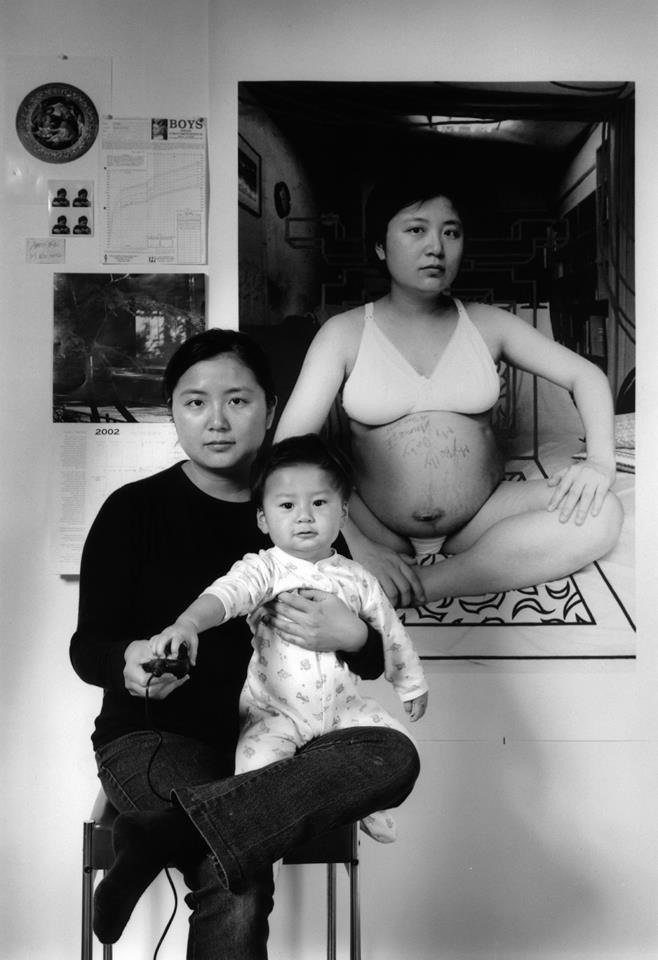 Bộ ảnh lồng ghép ấn tượng của bà mẹ đơn thân Đài Loan: Dành 17 năm ghi lại hành trình trưởng thành cùng con trai động lòng người - Ảnh 4.