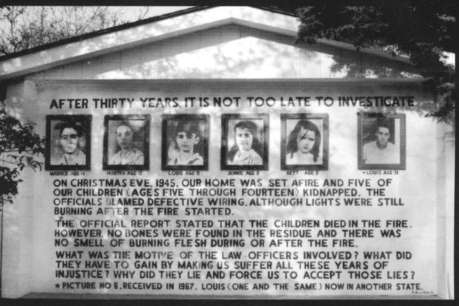 Vụ hỏa hoạn gây đau đầu nhất lịch sử nước Mỹ: 5 đứa trẻ biến mất, còn sót lại mảnh gan bò cùng một chút xương và bí ẩn 75 năm không có lời giải - Ảnh 5.
