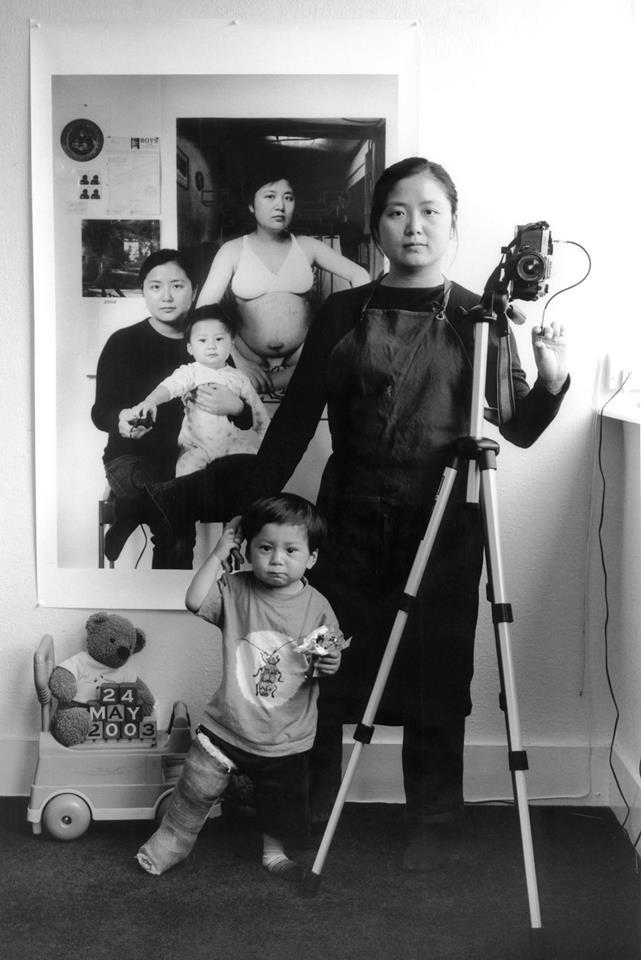 Bộ ảnh lồng ghép ấn tượng của bà mẹ đơn thân Đài Loan: Dành 17 năm ghi lại hành trình trưởng thành cùng con trai động lòng người - Ảnh 5.