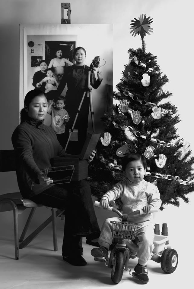 Bộ ảnh lồng ghép ấn tượng của bà mẹ đơn thân Đài Loan: Dành 17 năm ghi lại hành trình trưởng thành cùng con trai động lòng người - Ảnh 6.