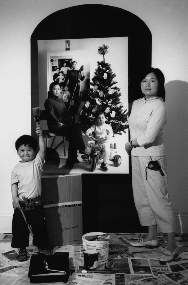 Bộ ảnh lồng ghép ấn tượng của bà mẹ đơn thân Đài Loan: Dành 17 năm ghi lại hành trình trưởng thành cùng con trai động lòng người - Ảnh 7.