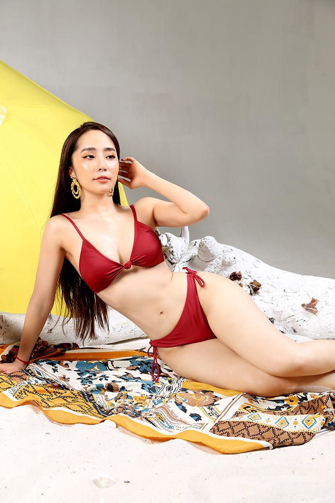 Loạt ảnh bikini gợi cảm của Quỳnh Nga - Ảnh 5.