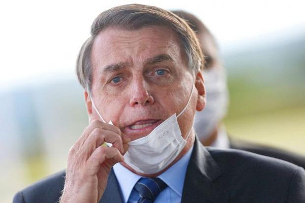 Không đeo khẩu trang, tổng thống Brazil bị thẩm phán phạt thẳng tay - Ảnh 2.