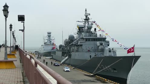 5 tàu chiến Thổ Nhĩ Kỳ áp sát Libya, bước ngoặt chiến sự - Đặc nhiệm Nga hứng thất bại nghiêm trọng ở Syria - Ảnh 1.