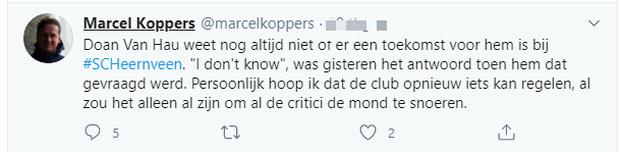 Được phóng viên Hà Lan hỏi về tương lai, Văn Hậu đáp ngắn gọn: Tôi không biết gì cả - Ảnh 1.