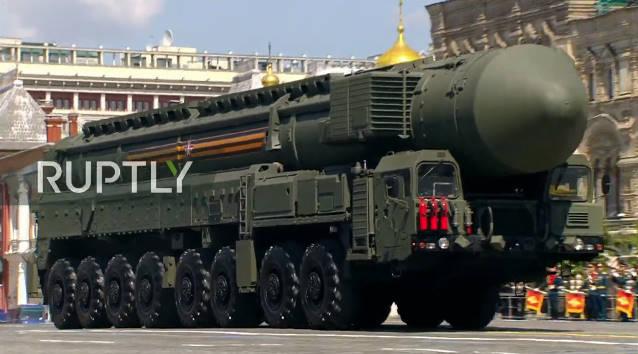 Một loạt vũ khí sát thủ của Nga biến đâu mất trong lễ duyệt binh trên Quảng trường Đỏ? - Ảnh 1.