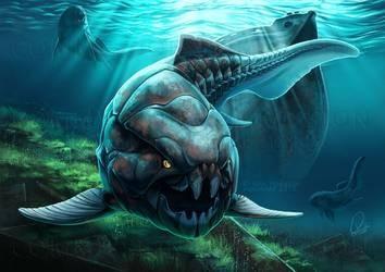 Tử thần bọc thép cắn đôi cá mập trong 1/50 giây - Ảnh 1.
