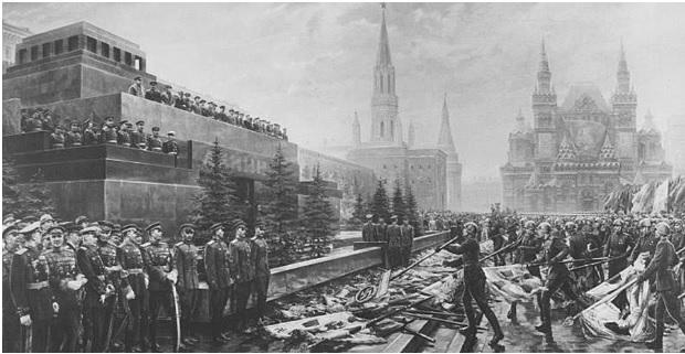 1 tháng chuẩn bị, ngày trọng đại mưa xối xả: Lễ duyệt binh Ngày Chiến thắng hoành tráng nhất lịch sử Liên Xô - Ảnh 6.