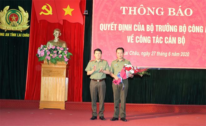 Công bố điều động, bổ nhiệm tân Giám đốc Công an tỉnh Lai Châu, Bắc Kạn - Ảnh 2.