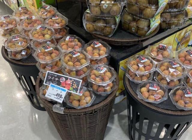 Siêu thị tại Nhật bán 120.000 đồng được 7 quả vải, shop online Nhật rao bán cả hạt vải với giá cao - ảnh 3