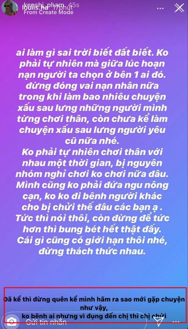 Drama lại căng: Hội stylist của Chi Pu bóng gió Quỳnh Anh Shyn chơi xấu bạn thân, làm chuyện có lỗi với người yêu cũ - Ảnh 3.