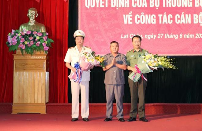 Công bố điều động, bổ nhiệm tân Giám đốc Công an tỉnh Lai Châu, Bắc Kạn - Ảnh 5.