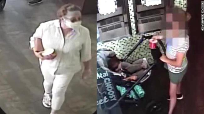 Hình ảnh người phụ nữ đang bị cảnh sát truy lùng (trái) và mẹ con Mireya.