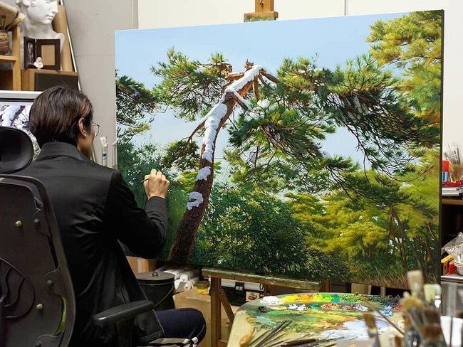 Hình ảnh cánh rừng xanh ngát xanh đem lại cảm giác yên bình khó tả nhưng ẩn chứa đằng sau đó là sự thật khó tin - Ảnh 3.