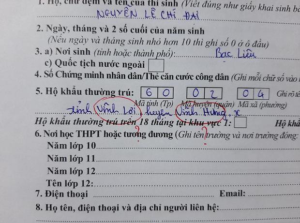 Lại là những pha đánh rơi não khi điền hồ sơ thi tốt nghiệp: Ghi tên trường thành tên mình, dùng ký tự lạ để điền thông tin - Ảnh 6.