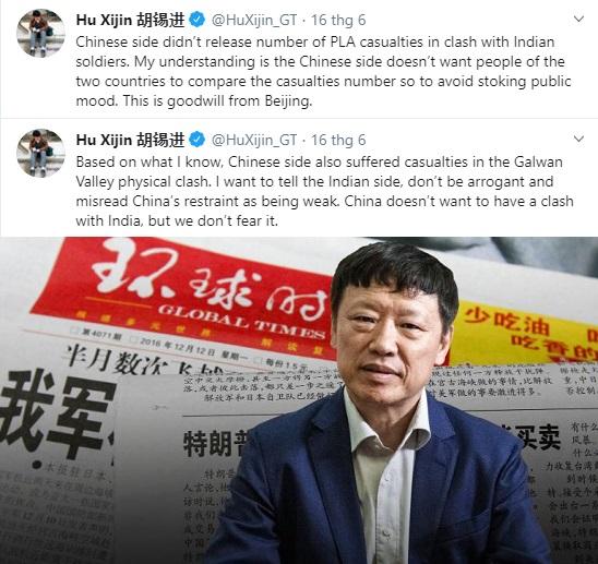 TBT Thời báo Hoàn Cầu: Tại sao Bắc Kinh che giấu thương vong trong đụng độ Trung - Ấn? - Ảnh 3.
