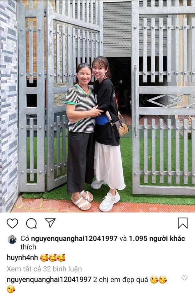Không hay đăng ảnh với Quang Hải nhưng Huỳnh Anh lại rất khéo thể hiện tình cảm với 'nhà trai' bằng cách này - ảnh 5