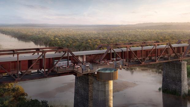 Khách sạn xa hoa nằm trên đường ray tàu hỏa sắp khai trương vào cuối năm 2020: Có giá tận 11 triệu đồng chỉ cho một đêm!  - Ảnh 3.
