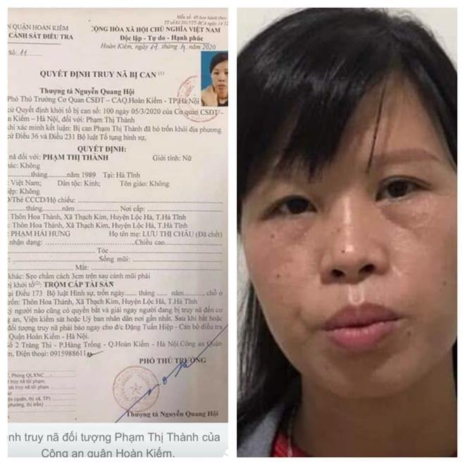 Bà mẹ phạm tội vứt con ở hố ga đang bị truy nã về tội lừa đảo - ảnh 3