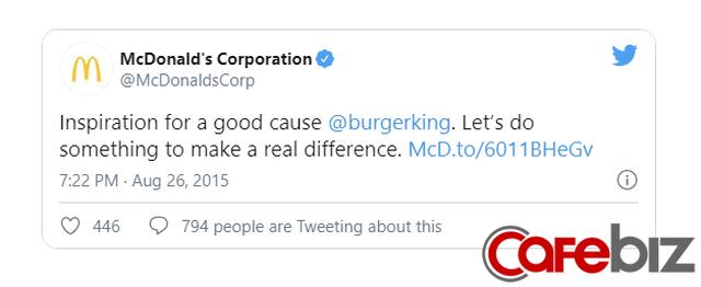 [Case Study] Thâm nho như Burger King: Chỉ 1 câu đề nghị khiến McDonalds tiến thoái lưỡng nan, tạo cú hích truyền thông với fan đồ ăn nhanh - Ảnh 3.