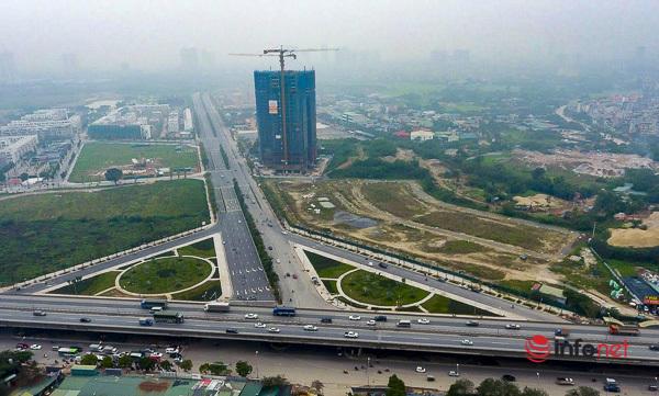 Hà Nội: Đại lộ nghìn tỷ vừa thông xe biến thành các bãi rác rùng mình - Ảnh 9.