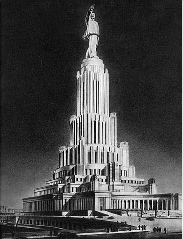 Người khổng lồ dịch chuyển cả Moscow và tượng Lenin gần 100m: Cung điện suýt tráng lệ nhất Liên Xô - Ảnh 4.