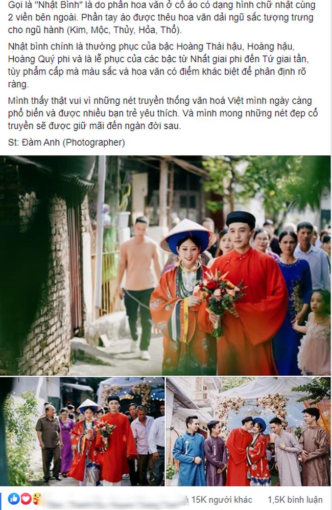 Bộ ảnh cưới cực độc đáo của cặp đôi Cao Bằng nhận bão like chỉ sau 2 giờ đăng tải, chiêm ngưỡng từng tiểu tiết nhỏ mới thấy quá chất - Ảnh 1.