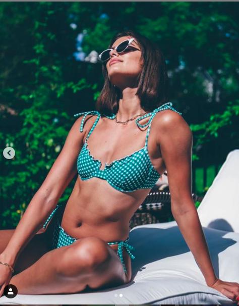 Thiên thần nội y Taylor Hill tung ảnh bikini quyến rũ nao lòng - Ảnh 2.