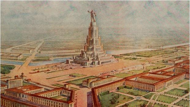 Người khổng lồ dịch chuyển cả Moscow và tượng Lenin gần 100m: Cung điện suýt tráng lệ nhất Liên Xô - Ảnh 2.