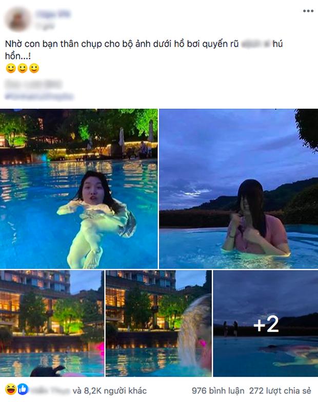 """Nhờ bạn thân chụp cho bộ hình quyến rũ ở hồ bơi, cô nàng nhận về loạt ảnh """"biến dạng"""" đến tức tưởi! - Ảnh 1."""