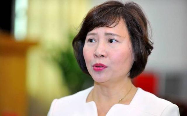 Bộ Công an thông tin chính thức việc khởi tố cựu Bộ trưởng Vũ Huy Hoàng và cựu Thứ trưởng Hồ Thị Kim Thoa - Ảnh 1.
