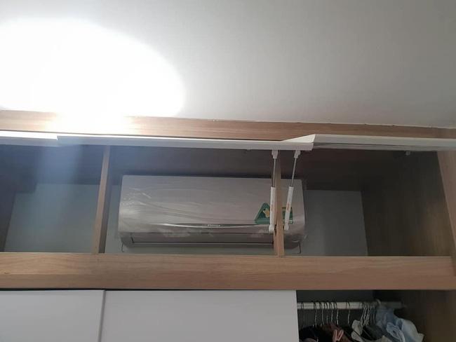 Lắp điều hòa kiểu trần đời có 1: Dàn lạnh chênh vênh trên tường chỉ trực rơi nhưng phản ứng của chủ nhà mới hài - ảnh 3