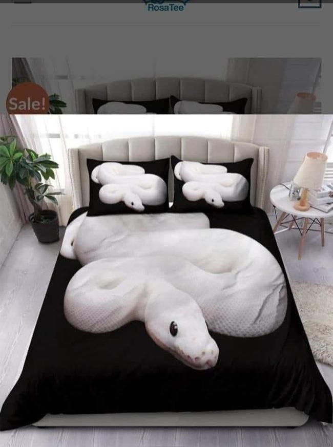 Bộ khăn trải giường thử thách mọi giấc ngủ nhất của năm với hình ảnh bầy trăn bò chật kín khiến nhiều người chỉ muốn ngất lịm cả tuần chưa tỉnh - Ảnh 3.