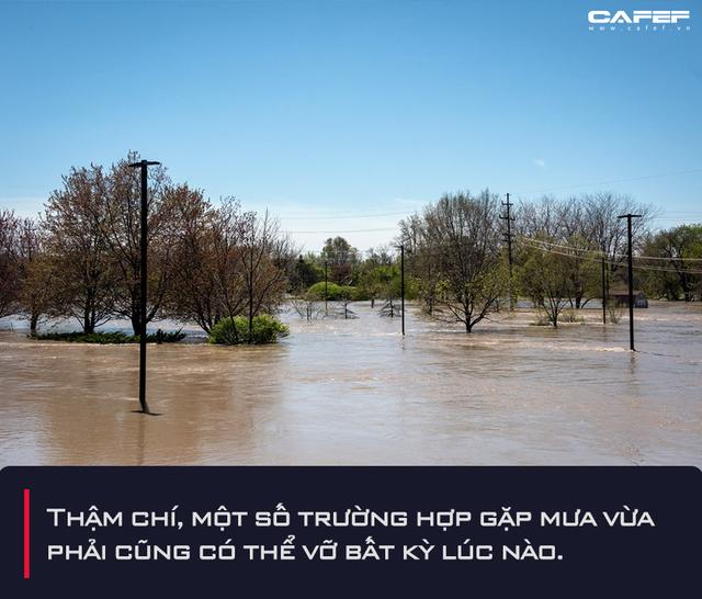 Nhìn lại sự cố vỡ đập tại một bang ở Mỹ: Hồi chuông cảnh báo về hàng chục nghìn con đập xuống cấp trầm trọng, lũ lụt lớn có thể xảy ra bất kể lượng mưa - Ảnh 6.