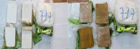 Bị bắt khi vận chuyển 3kg ma túy từ Campuchia về Sài Gòn - Ảnh 2.