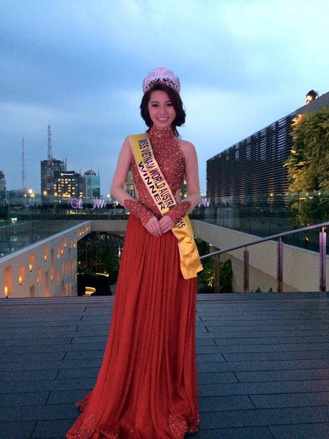 Cận cảnh nhan sắc thật của hoa hậu Jolie Nguyễn khi chưa phẫu thuật thẩm mỹ - Ảnh 1.